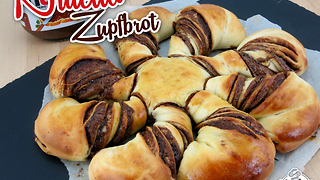 Nutella Zupfbrot  - Video
