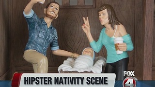 Hipster nativity set - Video