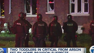 Two children in critical condition after hostage situation - Video