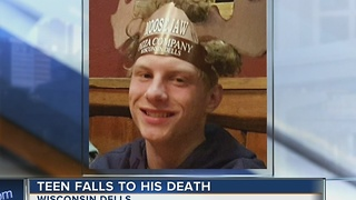 Teen who died in fall from Mt. Olympus water slide in Wisconsin Dells identified - Video