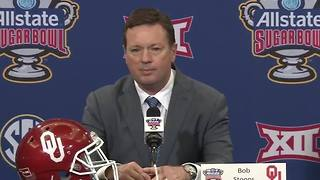 OU head coach Bob Stoops holds press conference on Sugar Bowl