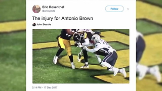 Antonio Brown Suffers Gruesome Leg Injury