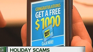 Beware holiday scams - Video