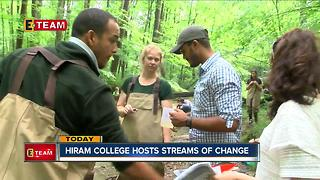 Students from Pakistan, Dominican Republic come to Hiram College to study water quality - Video