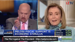Nancy Pelosi was called CRAZY NANCY on TV!