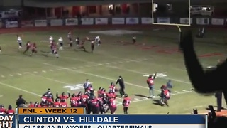 Clinton vs Hilldale - Oklahoma High School Football - Video