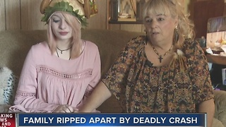 Family celebrates Thanksgiving after grandfather's death - Video