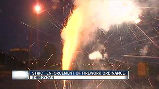 sheboygan police amp up firework enforcement - Video