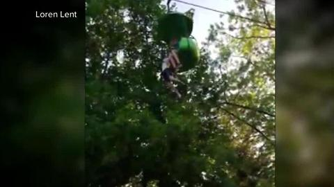 Girl falls from ride at Six Flags New York