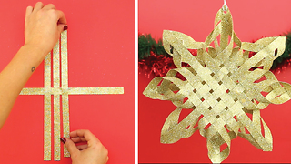 Glamorous Paper Christmas Star - Video