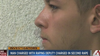 Man accused of raping JoCo deputy charged in separate rape case - Video