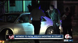 Passenger in car during deadly officer-involved shooting charged with unrelated assault - Video