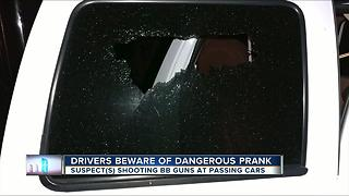 Driver beware of dangerous prank on I-75 - Video