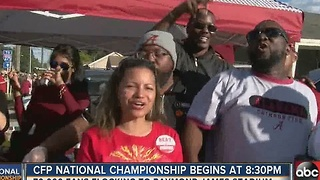 70,000 fans flocking to Raymond James Stadium - Video