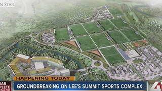 Groundbreaking of Lee's Summit sports and entertainment complex
