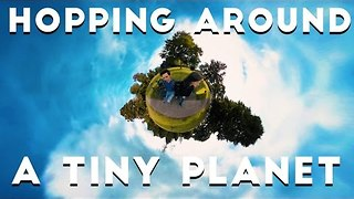 Samsung Gear 360 Used to Create Tiny Planet Effect - Video