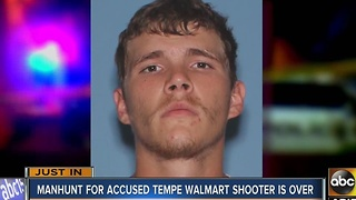 Arrest made after man fired shots at a Tempe Wal-Mart Sunday