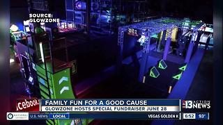 GlowZone famiy fun for a good cause - Video