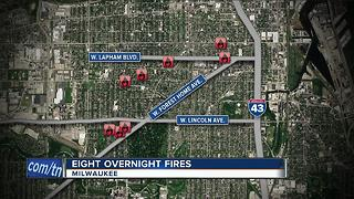Police looking for fire starters on south side - Video