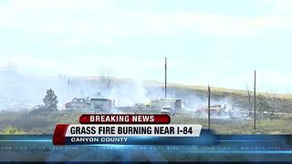 Grass fire destroys two homes in Canyon County - Video