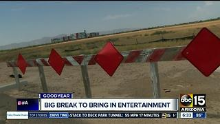 Goodyear offering break to bring in restaurants, entertainment - Video