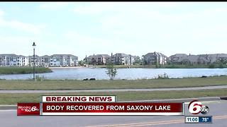 Body of drowning victim recovered at Saxony Beach in Fishers - Video