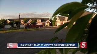 HOA Threatens WWII Vet Over Parking Problems - Video