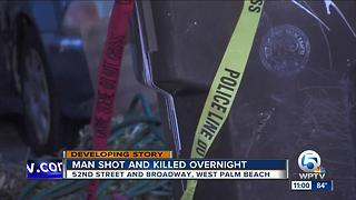 Homicide investigated after man fatally shot on Broadway Avenue in West Palm Beach - Video