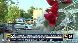 Recent rash of violence worries city residents - Video