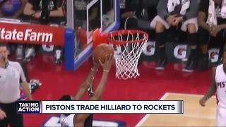 Pistons unload Darrun Hilliard to Rockets for cash - Video
