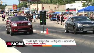 Roadkill Nights brings fast cars and drag racing to metro Detroit - Video