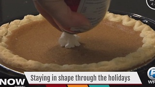 Don't let overeating on Thanksgiving derail your fitness plan - Video