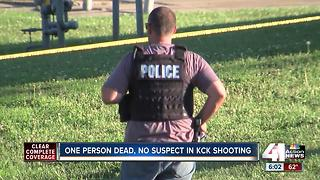 Man found shot to death in KCK street - Video