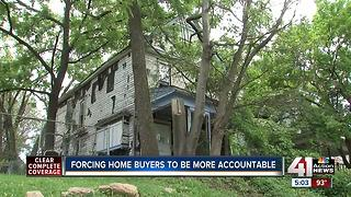 New law will help Kansas City clean up abandoned houses - Video