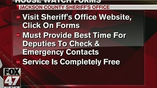 Jackson County offering extra protection during holiday season