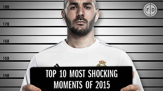 Top 10 Most Shocking Moments of 2015 - Video