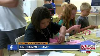 Summer camp blurs learning and fun together. - Video