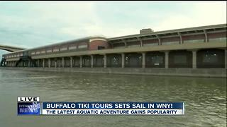 Buffalo Tiki tours picks up steam and popularity! - Video