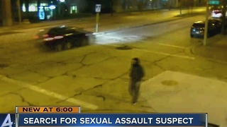 Students concerned with safety as MPD continues search of sexual assault suspect - Video