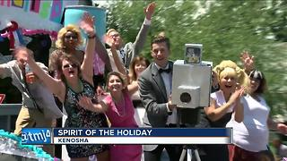Kenosha parade attracts families celebrating before the Fourth - Video