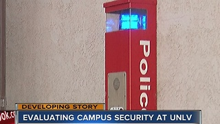 UNLV prepared for any incidents on campus - Video