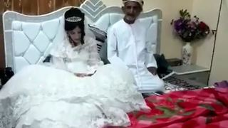 Teenage Arab bride married elderly man 'to help family' - Video