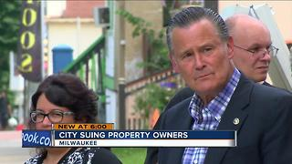 City sues business called