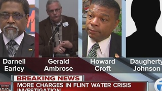 New charges in Flint water case - Video