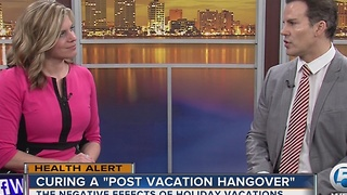 How do I cure a post-vacation hangover? - Video