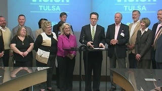 Tulsa mayor G.T. Bynum and City Council announce Vision Tulsa projects, schedule, timeline - Video