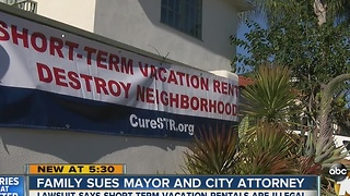 Family sues mayor and city attorney - Video