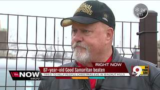 87-year-old good Samaritan beaten - Video