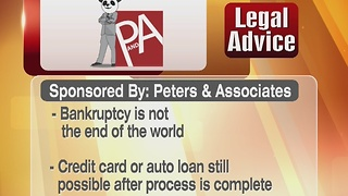 Legal Tip: Bankruptcy 12/28/16 - Video