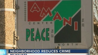 Amani neighborhood's crime rate drops - Video